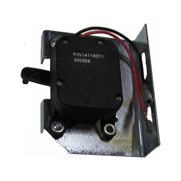 1411907 electric throttle motor w terminals and mounting for Electric motor mount bracket