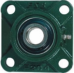 (4F28SCR) 4 Hole Set Screw Flange Unit - 1-3/4