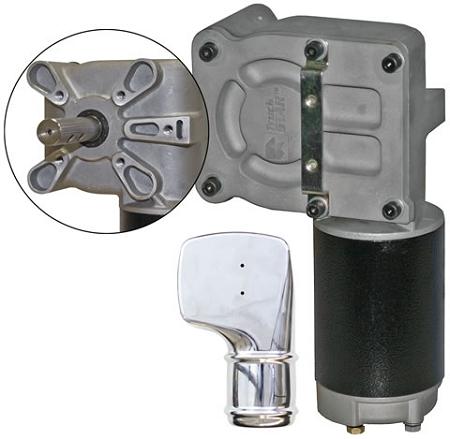 5543895 Tarp Gear Motor W Chrome Cover
