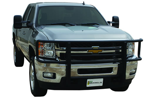 Grill Guards For Chevy Trucks : Go industries big tex grille guard