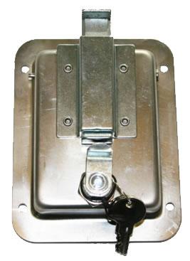 L3885 Heavy Duty Standard Size Flush Mount Paddle Latch
