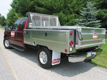 Truckcraft Combo Service Dump Body