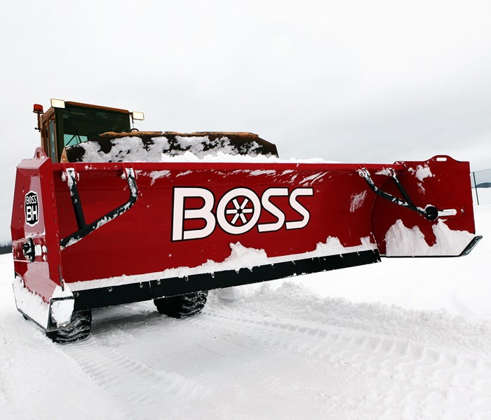 Meyer Snow Plow >> Boss BH Backhoe Box Plow - Kaffenbarger Truck Equipment Co.
