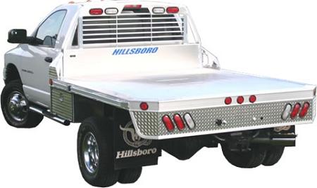 Hillsboro Aluminum Truck Beds