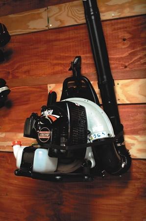 Snow Blower Reviews >> (LT22) Backpack Blower Rack (STIHL Blowers)