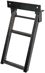 (RS2) Sure Step Retractable Truck Step, Black