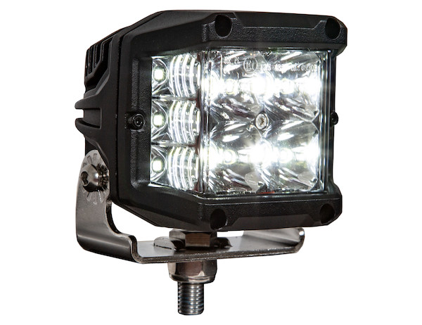 1492197 Ultra Bright Wide Angle 4 Inch Rectangular Led Spot Flood Combination Light