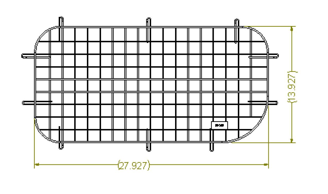 60-150) Adrian Steel Nissan NV200 Streetside Sliding Door Wire ...