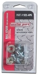 (921-4PK) Weather Guard Ball Studs and Nuts 4-Pack