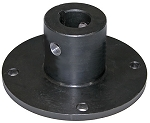 (924F0017T) Buyers Spreader Spinner Hub, Universal (Keyed & Cross Drilled), 2-7/8
