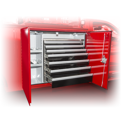CTECH Aluminum Tool Drawer Unit for Work Trucks