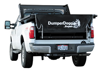 Buyers DumperDogg Steel Pickup Dump Insert - 12V, 8' Steel