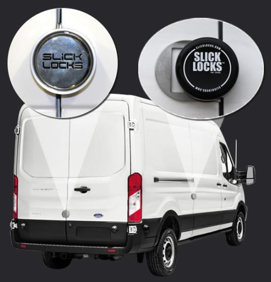 Slick Locks Ford E-Series sliding door van kit 1992 to present FD-FVK-SLIDE-TK