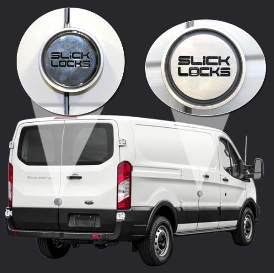 Slick Locks Ford Full Size Transit 2015+ FD-TR-FVK-SLIDE-TK Sliding side door