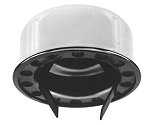 (BECO61A) Push-In Type Breather Cap, Chrome