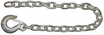 (BSC3835) Trailer Safety Chain w/ Clevis Style Slip Hook