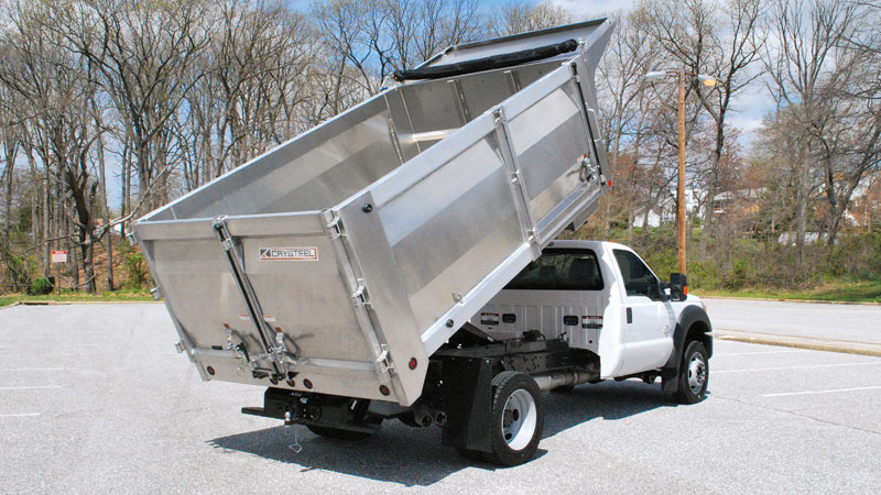 Crysteel Aluminum Landscape Body Kaffenbarger Truck Equpiment Co