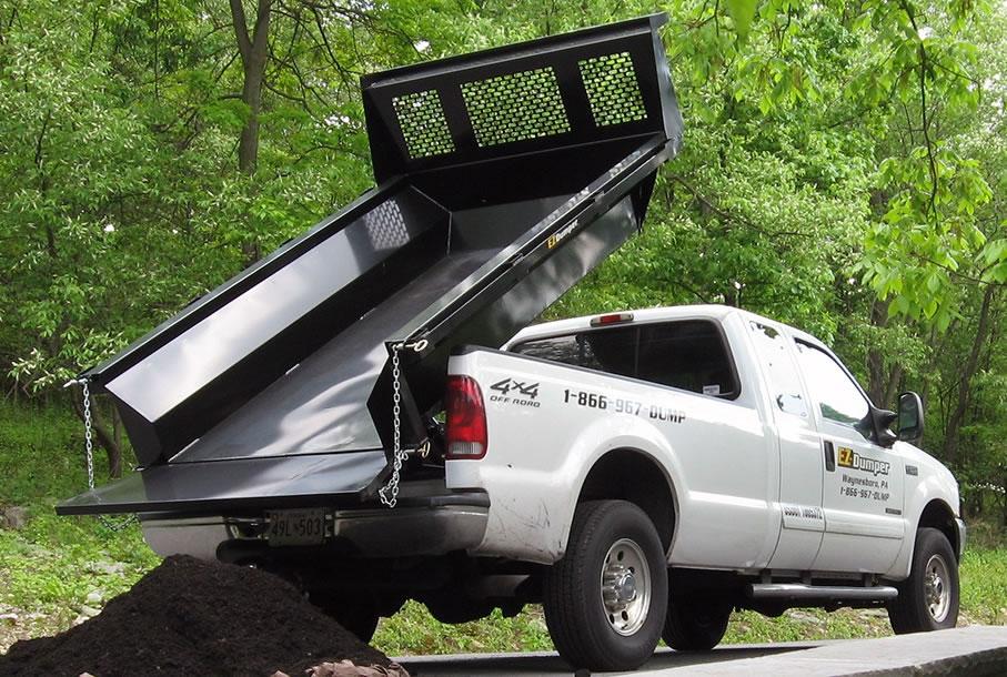 Ez Dumper Steel Pickup Dump Insert Kaffenbarger Truck