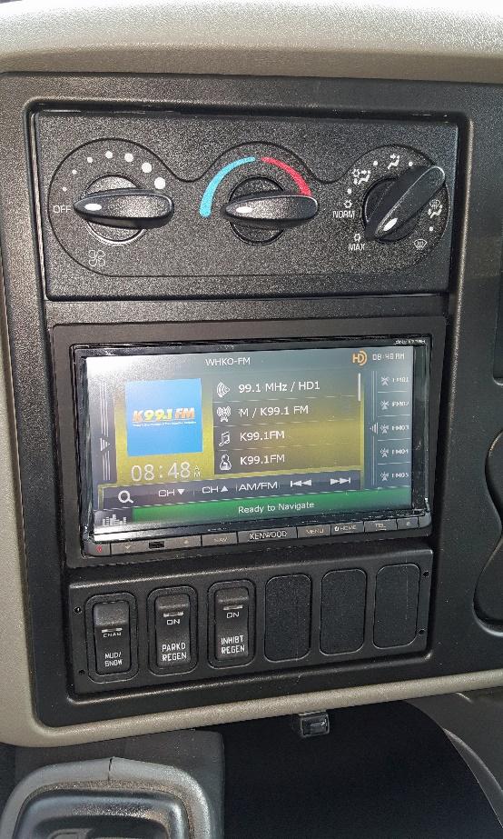Custom Dash Panels - Kaffenbarger Truck Equipment Co