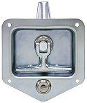 (L8835) Heavy-Duty Standard Size Flush Mount Folding T-Handle Latch, Triple Point
