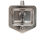 (L8855) Heavy-Duty Standard Size Flush Mount Folding T-Handle Latch, Single Point