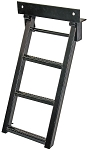 (RS3) Sure Step Retractable Truck Step, Black