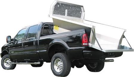 Aluminum Dump Trailer >> TruckCraft Shortbed Aluminum Dump Insert
