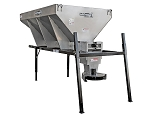 (1400500SSH) Buyers SaltDogg 4.0 Cu. Yd. Municipal Stainless Steel Hopper Spreader - Hydraulic Motors