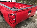 2017 Chevrolet Silverado 4x4 Red 8' Takeoff Bed (LB)