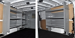 (4484) Adrian Steel Nissan NV Cargo, Cargo Management System Van Package (Standard Roof)