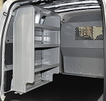 (4959) Adrian Steel Nissan NV200 Compact Cargo, Cargo Management System Van Package