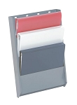 (BH4) Adrian Steel Commercial Van Four Slot Binder Holder