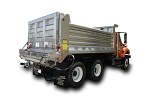 Galion Stainless Dump Body with Spreader