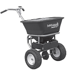 (WB201G) Buyers SaltDogg Professional Walk Behind Spreader, Stainless Steel Frame