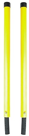 "(1308150) Yellow Poly Guide Kit, 1-1/4"" x 24"""