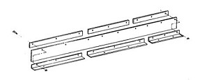 (1309015) Snow Deflector, Meyer C-8.5/M-9/M-10 w/Mounting Kit