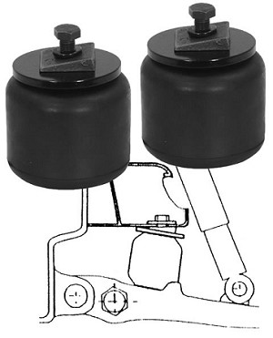 (5562001) Auxiliary Front Suspension Kit