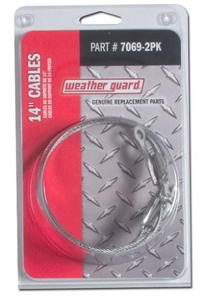 "(7069-2PK) Weather Guard 14"" Door Support Cables"
