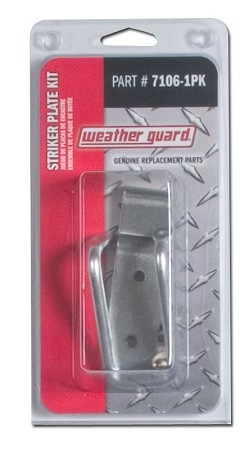 (7106-1PK) Weather Guard Latch Striker and Plate Kit