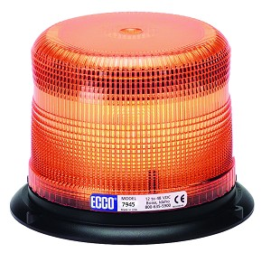 (7965A) Ecco Pulse II LED Beacon - Amber