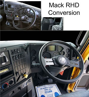 Mack RHD (Right-Hand Drive) Conversion