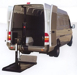 Tommy Gate Cargo Van Series Model 650 Liftgate
